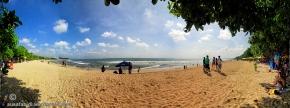 Kuta Beach Panorama